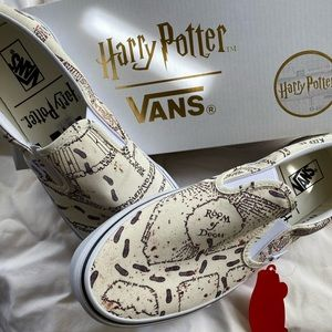 Vans Harry Potter Marauders Map limited edition